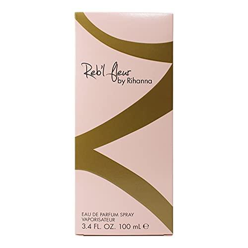 Rihanna Reb'l Fleur Women's Eau de Parfum Spray, 3.4 Ounce
