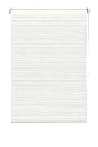 Gardinia EASYFIX Rollo Dekor 101 Streifen weiß/weiß 75 x 150 cm