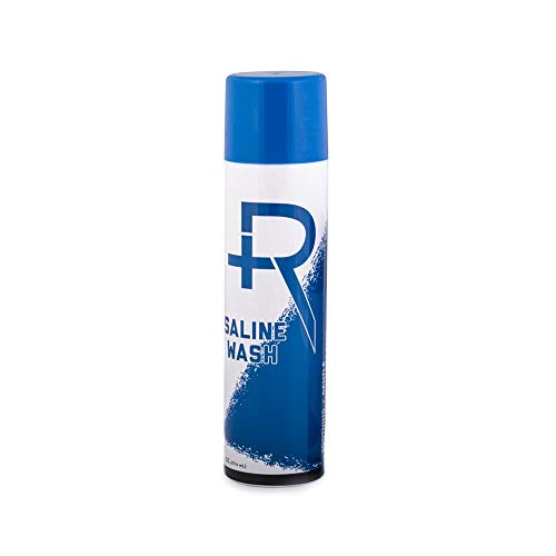 Recovery Piercing Aftercare Purified Saline Spray - All Natural Piercing Cleaner, 6 Ounces