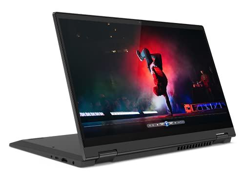 "Lenovo IdeaPad Flex 5 - Ordenador Portátil Convertible 14"" FullHD (AMD Ryzen 7 5700U, 16GB RAM, 512GB SSD, AMD Radeon Graphics, Windows 10 Home), Lenovo Digital Pen, Gris - Teclado QWERTY Portugués"