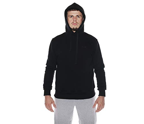 Ninja Ultras Hooligan ACAB Riot Kapuzenpullover mit eingearbeiteter Sturmhaube L13 (M)
