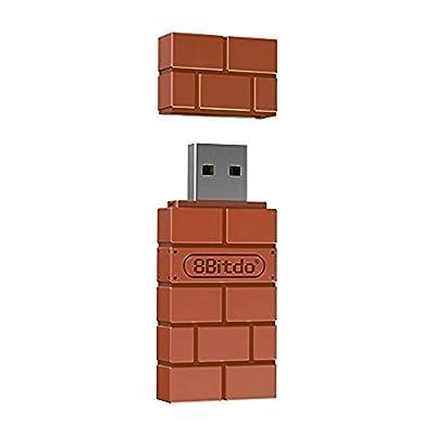 8Bitdo Wireless Bluetooth Adapter for Windows/Mac/Raspberry Pi (Nintendo Switch)