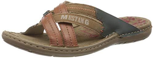 Mustang 4923-702-301, Mules Homme, Marron (Kastanie 301), 42 EU