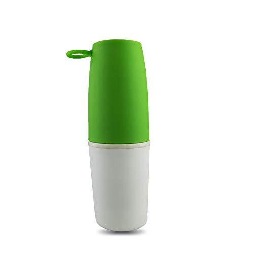 KJKL Kaffeebecher EdelstahlGeschenk -Cup {Y:Bi}2 Grad Cup Thermische Isolierung Werbe -Cup,Grün,300Ml