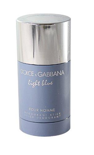 D&G Light Blue Pour Homme | Deodorant Stick by Dolce & Gabbana | Fragrance for Men | Fresh Aromatic Mediterranean Scent | 71 mL / 2.4 oz