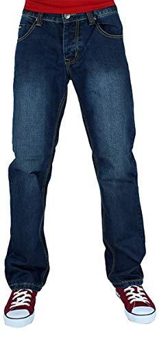 Big Dawg Special Uomo Denim Straight, Jeans Stonewash Blu, Blu Scuro - Blu Scuro, 36W / 31L