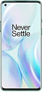OnePlus 8 - 12GB RAM + 256GB (UAE version) - Glacial Green [Amazon Exclusive]