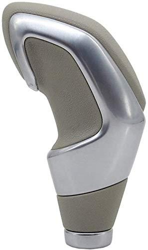 Perilla de Cambio de Marchas automática NLZQB para Peugeot 106206306406107207307407301308 2008 3008 Citroen C2 C3 C4 Perilla de Cambio de Marchas (Color: Negro) -Beige