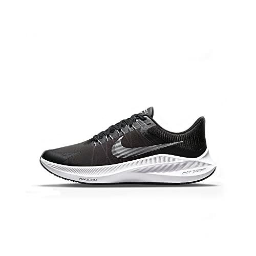 Nike Winflo 8, Zapatillas para Correr Hombre, Black/White-dk Smoke Grey, 42.5 EU