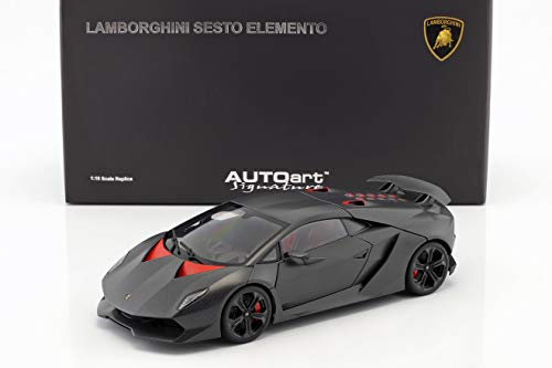 AUTOart Lamborghini Sesto Elemento Baujahr 2010 carbongrau 1:18