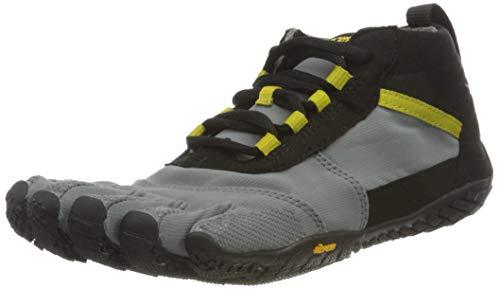 Vibram Damen V-Trek Sneaker, Black/Grey/Citronelle, 42 EU