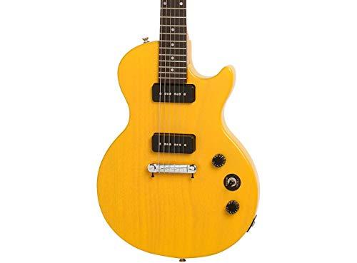 Epiphone Les Paul Special I P90 E-Gitarre Worn TV gelb