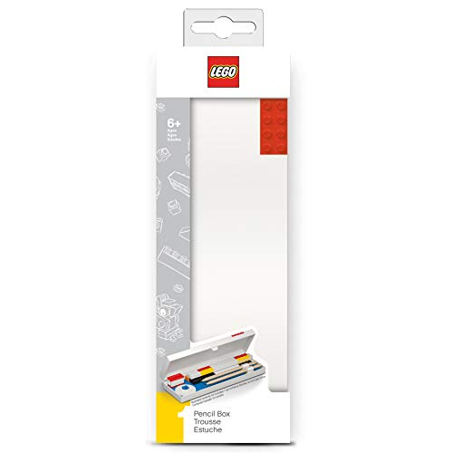 Lego Stationery Pencil Case with Red Building Brick