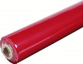 Nappe Papier Rouge en Rouleau de 1,18 x 20 M/ètres Nappe de Table en Papier Gaufr/é Rouge LE NAPPAGE Recyclable et Biod/égradable