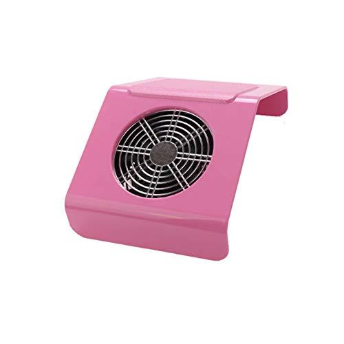 Power Banks Nagelstofcollector-zuigventilator met 2 stof-, nagel- en manicure-gereedschappen, nagel-schoonmaakuitrusting