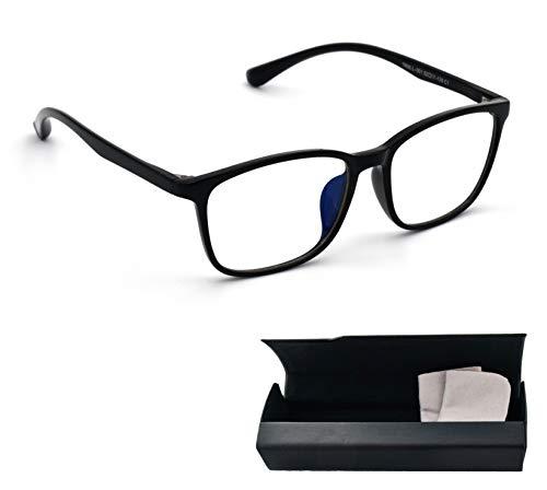 Lumondo PC Brille 3S - Federleichte Computerbrille mit Blaulichtfilter | Gegen Augenmüdigkeit | UV Brille mit natürlichem Farbspektrum | Extrem biegsam