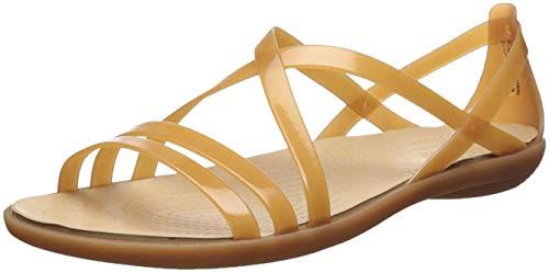 Crocs Isabella Strappy Sandal Women, Sandalias de Punta Descubierta para Mujer