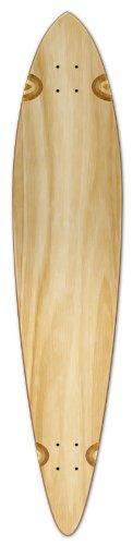 Blank Longboard Deck PINTAIL 40' X 9' board W/, Natural