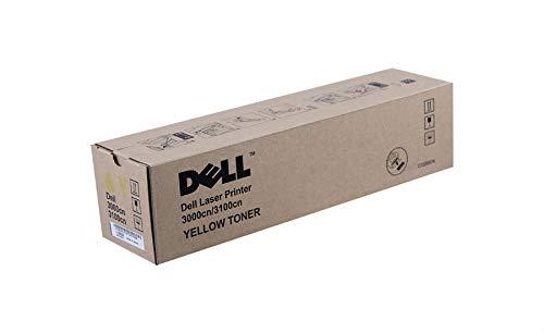 Dell Tonerkassette mit Standard-Kapazität 2.000 Seiten für Dell 3000cn/3100cn Laserdrucker Gelb