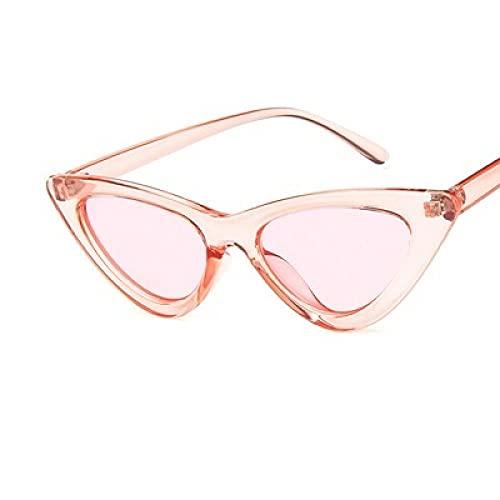 MIMITU Gafas de sol vintage para mujer, gafas de sol retro sexis,gafas para mujer, rosa claro
