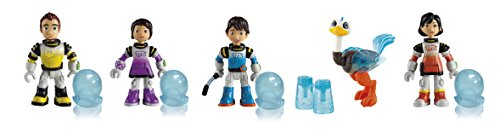 Miles von Morgen 481350ML - 5 Familien Figuren, Sortiert, blau