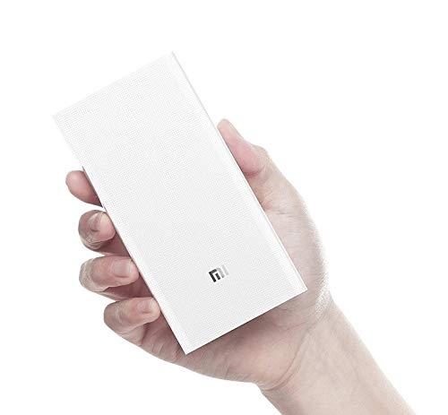 Carregador Portatil Xiaomi 20000mah - Branco