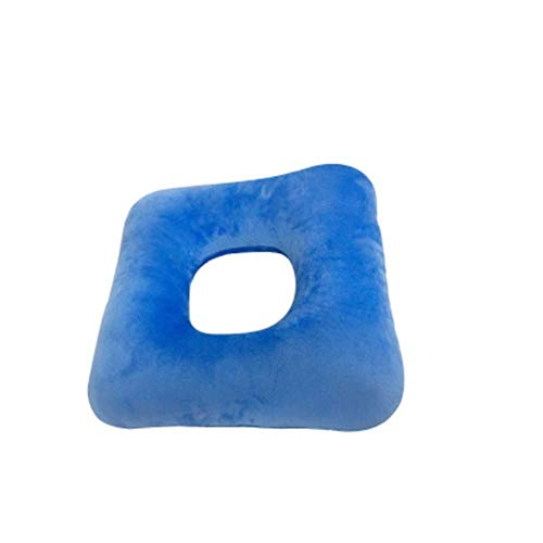 JJZXPJ zitkussen, stoelkussen Ergonomisch anti-decubitus Acne dikker katoen wollen rolstoel kussen Decompressie kussen -Sciatica & rugpijn verlichting