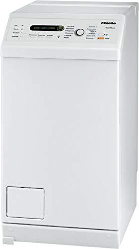 Miele WW 690 WPM Toplader Waschmaschine / 6 kg Schontrommel / autom. Trommelpositionierung und -arretierung / Fahrrahmen / Startvorwahl / Warterproof-Metal / 1350 U/min [Energieklasse C]