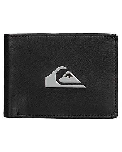 Quiksilver Accesorio de Viaje- Billetera Plegable, Negro