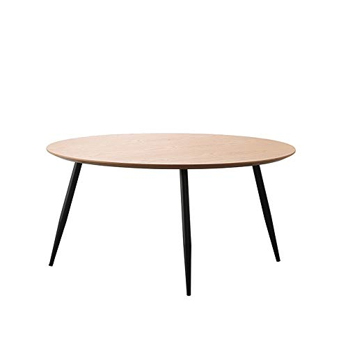 YGWE Side Table Mini Side Table Modern Minimalist Balcony Wrought Iron Round Table Nordic Small Apartment Sofa Corner Small Coffee Table Living Room Furniture (Color : Multi-colored, Size : 80x80x40)