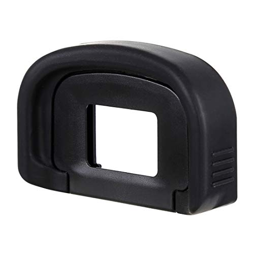 Movoja® Augenmuschel für Canon EOS 1DS Mark III / 1DS Mark IV / 7D / 5D Mark Eyecup | Okular Sucher | Okularmuschel | Okularer Viewfinder | Ersatz Schutz | Okular-Protector | Linsenmuschel | 5400
