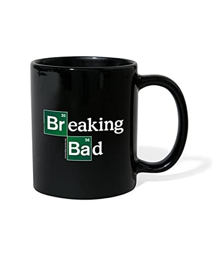 Spreadshirt Breaking Bad Logo Brom & Barium Tasse einfarbig, Schwarz