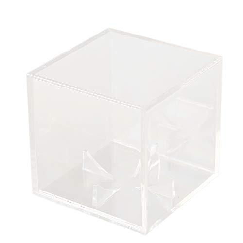 Ganata Acryl 9 Zoll Baseball Box Display Tennis Ball Transparent Fall für Souvenir Aufbewahrungsbox Halter Uv Schutz Staubdicht