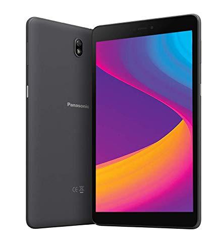 Panasonic Tab 8 HD Tablet (8 inch, 3GB/32GB, Wi-Fi + 4G LTE + Voice Calling), Black