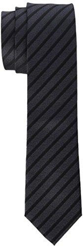 Strellson Premium Herren 11 Tie_6.0 10004045 Krawatte, Grau (Medium Grey 035), 6 (Herstellergröße: 1)