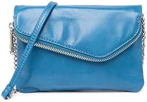 HOBO Vintage Daria Convertible Clutch Cross Body Handbag in Bayou BLUE product image