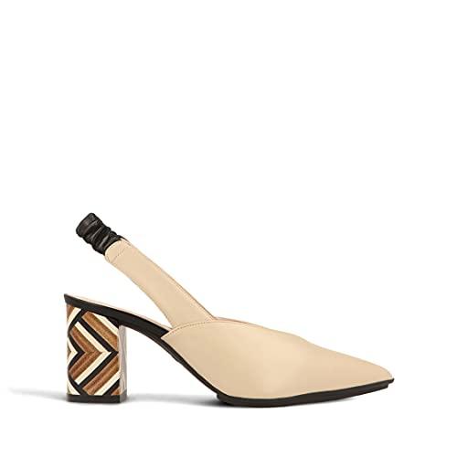 lodi Modesta-RO-1, Zapatos de Vestir Mujer, Ginger Ecru, 38 EU