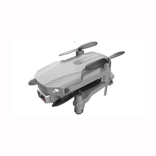 NONGLAN Mini Drone Drone 4k Cámara Profesional HD WiFi FPV Presión De Aire Drone Air Presión Fija Altura De Cuatro Ejes RC Helicóptero con Cámara Dron(Color:Gris)