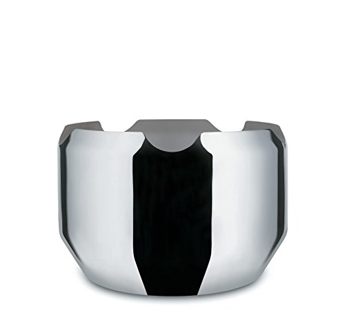 Alessi Schale, Edelstahl, Silber, 10.5 x 35 x 27 cm