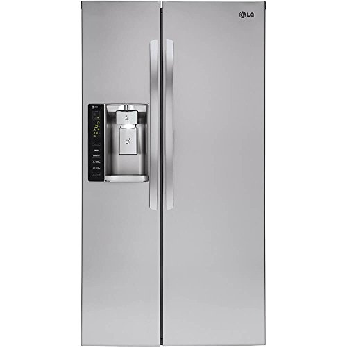 LG LSXC22426S 22 cu. ft. Ultra Large Capacity Side-by-Side Counter-Depth Refrigerator