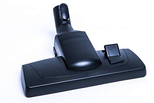 Hochwertige Umschaltbare Bodendüse, Kombidüse mit Laufrolle passend für alle Miele Staubsauger mit Klicksystem und Parkhalterung