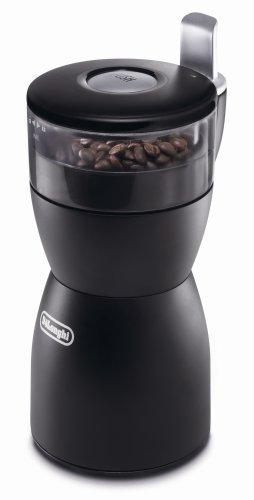 DeLonghi Elektrische Kaffeemühle mit Edelstahlklinge