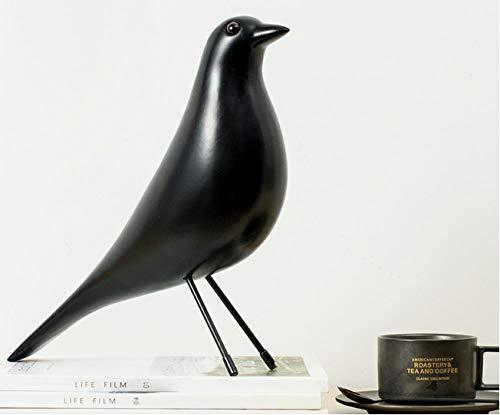 lilizhang Kreative Statuen, minimalistische Moderne Handwerksornamente, Art Deco Skulptur Büro Wohnzimmer Bar Cafe Schlafzimmer@schwarz