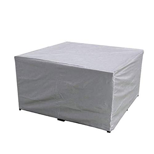 Outdoor Patio Furniture Protective Cover, Garden Furniture Covers, Waterproof Windproof Anti-UV, Heavy Duty Oxford Fabric Cube Set Table Cover for Patio,242 * 162 * 100cm