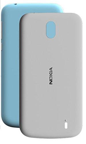 Original Nokia 1A21RSR00VA Original X-Press Doppel-Pack Hülle Azure/Grau