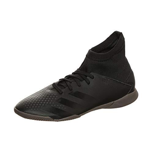 adidas Predator 20.3 IN J, Zapatillas Deportivas, Core Black/Core Black/DGH Solid Grey, 30 EU