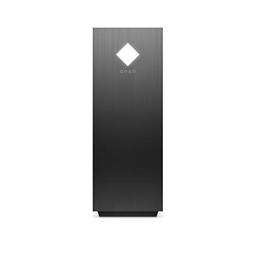 OMEN GT12-0039ng Gaming Desktop PC (Intel Core i7-10700, HyperX XMP 16GB DDR4 RAM, 1TB HDD, WD BLACK 512GB SSD, NVIDIA RTX 3060ti 8GB, Windows 10, CPU Lüfter RGB-Beleuchtung) schwarz mit Sichtfenster