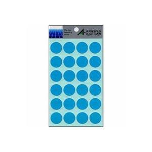 (業務用セット) エーワン カラーラベル 丸型20mm径 07046 空 1P14シート(336片)入 【×10セット】 ds-1527942