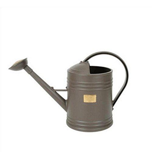 Wddwarmhome Gießkanne Brauner Harz Gießkanne Gartenarbeit Bewässerungswasser Flasche Sprinkler Wasserkocher Wasserkocher