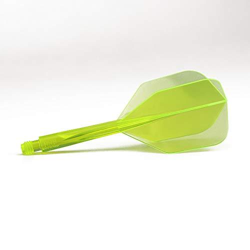 Trinidad darts condor achse shape neon gelb lang 33 5 mm, 3 st?ck.